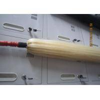 Buy cheap Natural Red Wood / True Horse Tail Fly Whisk 75cm White Hair Length from wholesalers