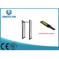 Safty Door Frame Metal Detector 6 Zones / Multiple Zones For Exhibition Center