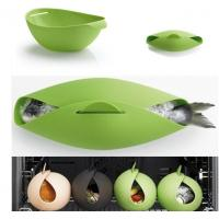Buy cheap BPA free FDA approved foldable silicone microwave fish steamer from wholesalers