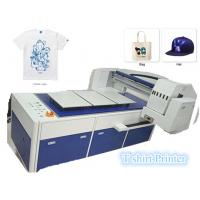 Buy cheap Three Station Design Digital Garment Printer With High Resolution 1200 * 1800 DPI from wholesalers
