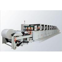 Buy cheap Frequency Control 6 Color Flexo Printing Machine For Carton , Paper Bag ZB - 6650 from wholesalers