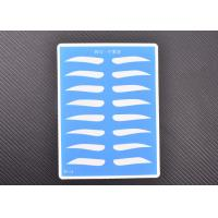 Buy cheap 3D Blue Rubber Fake Skin For Tattoo Practise Eyebrow Eyeliner Microblading from wholesalers