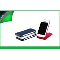 Buy cheap Red Stylish Vertical Leather Cell Phone Cases For Iphone 5s Tear - resistant from wholesalers