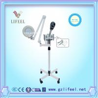 Buy cheap 3 in 1 portable facial steamer with magnifying lamp with stand for home use salon use from wholesalers