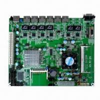 Buy cheap Firewall motherboard with 6 x 1000M Intel chips LAN card from wholesalers