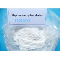 Buy cheap 99 % Local Anesthetic Powder Mepivacaine HCl CAS 1722-62-9 For Relieve Pain Powder from wholesalers