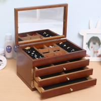 Buy cheap wholesale wood ring jewellery wooden jewelry box with Six-layer drawer from wholesalers
