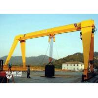Buy cheap Yellow Color Monorail Wire Rope Hoist Crane Anti Corrosion With Trolley from wholesalers