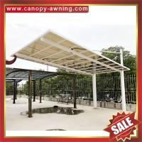 Buy cheap excellent outdoor hauling pc polycarbonate aluminium aluminium parking car port shelter canopy cover shield carport from wholesalers