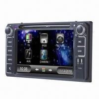 Buy cheap Car DVD Player for Toyota Corolla, with Dual Zone Source, Rear-view Camera and TMC from wholesalers