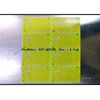 Buy cheap 1.5mm Single Sided PCB , Single Sided Printed Circuit Board Cem 1 Material product