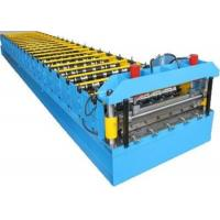 Buy cheap 4kw Aluzinc Roofing Sheet Making Machine 6-8m/Min Speed ISO9001 Standard from wholesalers
