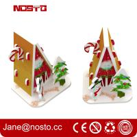 Buy cheap Merry christmas 3d puzzle for Christmas hanging as miniature puzzle from wholesalers