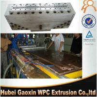 Buy cheap High speed plastic extrusion moulds made in China for WPC door panel from wholesalers