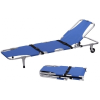 Buy cheap Aluminum Alloy Ambulance Patient Emergency Folding Stretcher from wholesalers
