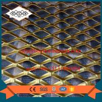 Buy cheap factory supplier false ceiling aluminum expanded metal mesh with powder coating from wholesalers