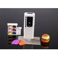 Buy cheap Handheld Colour Measurement Device Portable Spectrophotometer for printing Fruit product