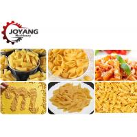 Buy cheap Screw Extruder Commercial Pasta Manufacturing Machine Macaroni Production Line from wholesalers