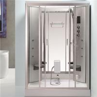 Buy cheap Back Massage Jets Jacuzzi Shower Enclosures , Shower Steam Room Combo With Fold Up Seat from wholesalers