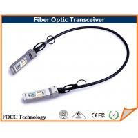 Buy cheap Active Fiber Optic 10 Gigabit Ethernet Small Form-Factor Pluggable Transceiver SFP+ from wholesalers