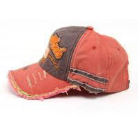 Buy cheap 6 Panel Female Denim Baseball Cap Adjustable Strap At Back For Daily Decoration from wholesalers