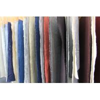 Buy cheap Colored Dyed Linen and Organic Cotton Washed Fabric for Polo T Shirt Clothing product