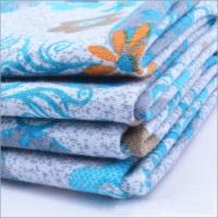 Buy cheap Rusha Textile  Knitting Printed Poly Spun Single Jersey Fabric Importers In Dubai from wholesalers
