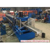 Buy cheap Galvanized Sheets Purlin Roll Forming Machine With Post Punching / Cutting from wholesalers