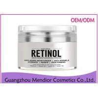 Buy cheap Retinol Organic Anti Aging Face Cream, White Fine Lines Beeswax Face Cream from wholesalers