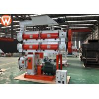 Buy cheap Chicken Bird Pellet Production Plant With Double Shaft Paddle Mixer Stable from wholesalers
