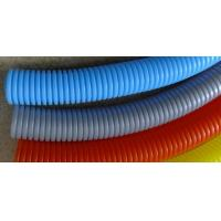 Buy cheap Plastic Polyethylene Electrical Conduit Corrugated Flexible Tubing For Cable Wire Protection from wholesalers
