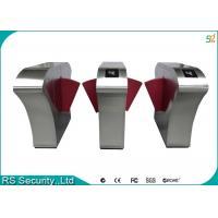 IR Sensor Waist hight Turnstile Security Systems Flap Barrier Gate