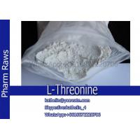 Buy cheap Pharma Raw Powder L-Threonine For Nutritional Supplement CAS No.72-19-5 from wholesalers