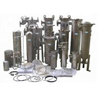 Buy cheap SUS304 / SUS316 High Pressure Filter Housing , Multi Bag Filter Housing from wholesalers