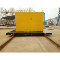 Buy cheap 300T Capacity Four Caste Steel Wheels Cable Power Railroad Cart from wholesalers