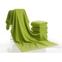Buy cheap Luxury Bath Towels Green Color , Beach Hotel Bath Towels Durable from wholesalers