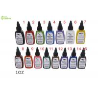 Buy cheap kuro Sumi Tattoo Ink Pigment 0.5 Oz 15 Color Set For Starter / Beginner from wholesalers