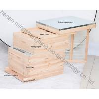 Buy cheap China Langstroth factory directly supply fir pine red cedar beehive from wholesalers