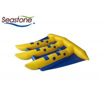Buy cheap Outdoor Flying Fish Inflatable Towable , Flying Banana Boat Ride Blue Color from wholesalers