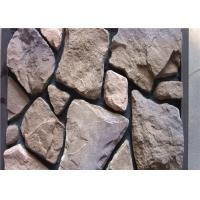Buy cheap Scattered Artificial Rock Siding For Villas / Railway Station Steam - Cured from Wholesalers