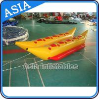 Buy cheap Water Games Inflatable Boats Double Tubes Flying Fish Inflatable Banana Boat from wholesalers