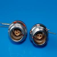 Buy cheap Lemo EEG PCB socket 3pin waterproof circular connector assembled inside product