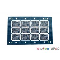 Buy cheap 2 Layers Industrial PCB Blue Solder Mask LF-HASL Finish One Stop Service from wholesalers