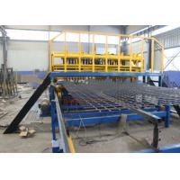 Buy cheap Thread Concrete Wire Mesh Welding Machine , High Output Mesh Panel Welding Machine product