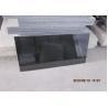Buy cheap Pure Black Galaxy Granite Slab , Granite Worktop Slab High Hardness 2.8 Kg/Cm3 from wholesalers