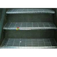 Buy cheap Outdoor Metal Grate Stair Treads, Galvanized Metal Step TreadsCheckered Nosing product