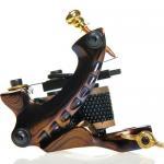 Buy cheap New handmade Permanent damascus steel tattoo machine Gun from wholesalers