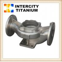 Buy cheap ASTM B367gr2 gr3 gr5 titanium precision casting from china factory from wholesalers