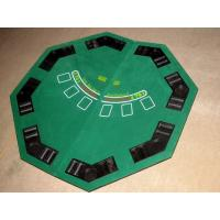 Buy cheap Promotional Folding Poker Table Top Easy Carry Poker Table Covers Tops With Carry Bag from wholesalers
