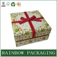 Buy cheap Factory Custom Cardboard Paper Box Packaging for Gift Chocolate with Ribbon product